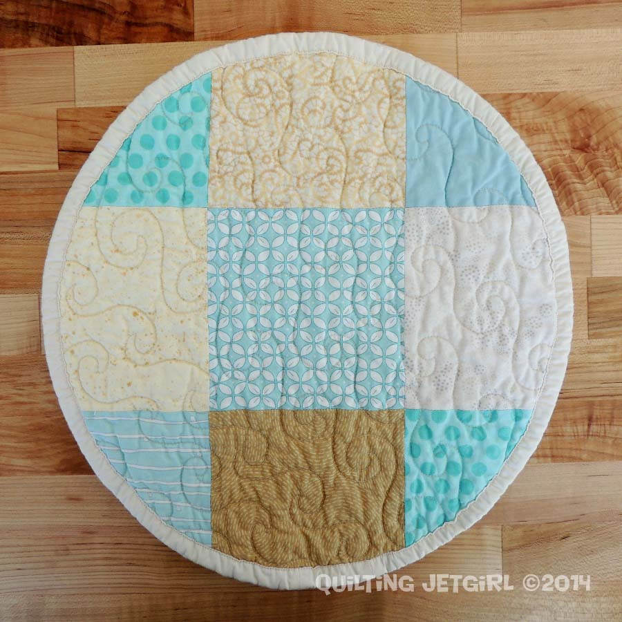 Beach Themed Round Placemats