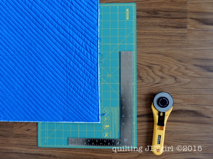 Squaring a Quilt - My Tools