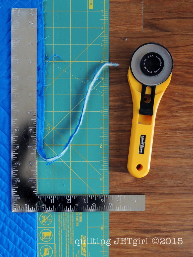 Squaring a Quilt - The Beauty of a Carpenter's Square