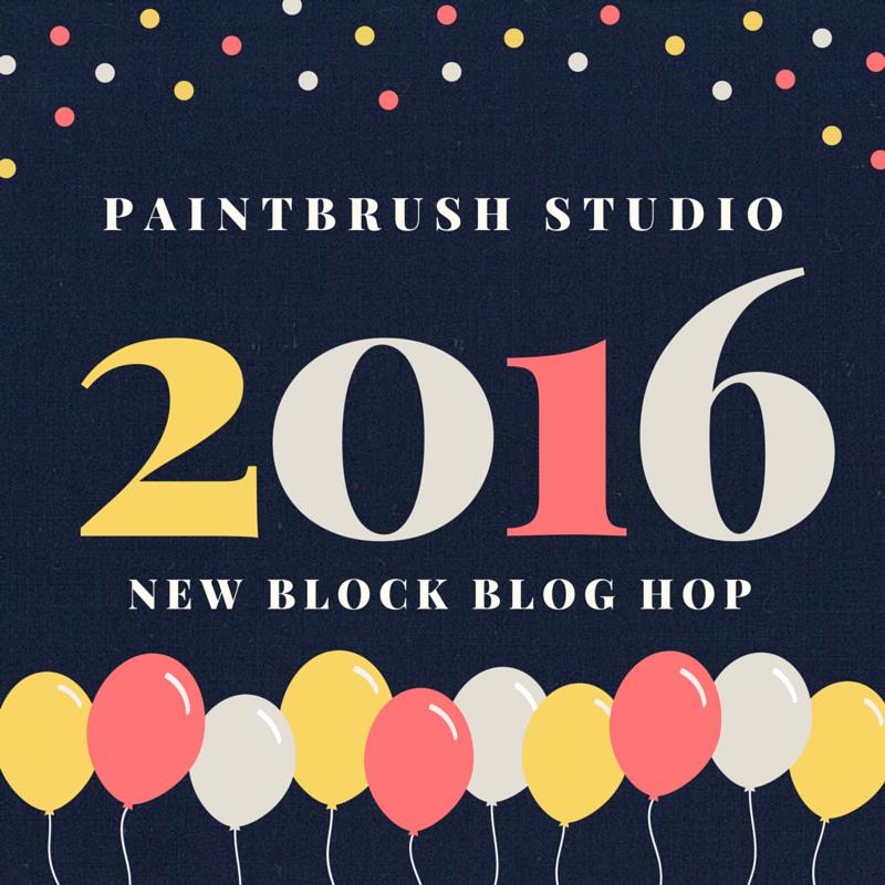 2016 Paintbrush Studio New Block Blog Hop