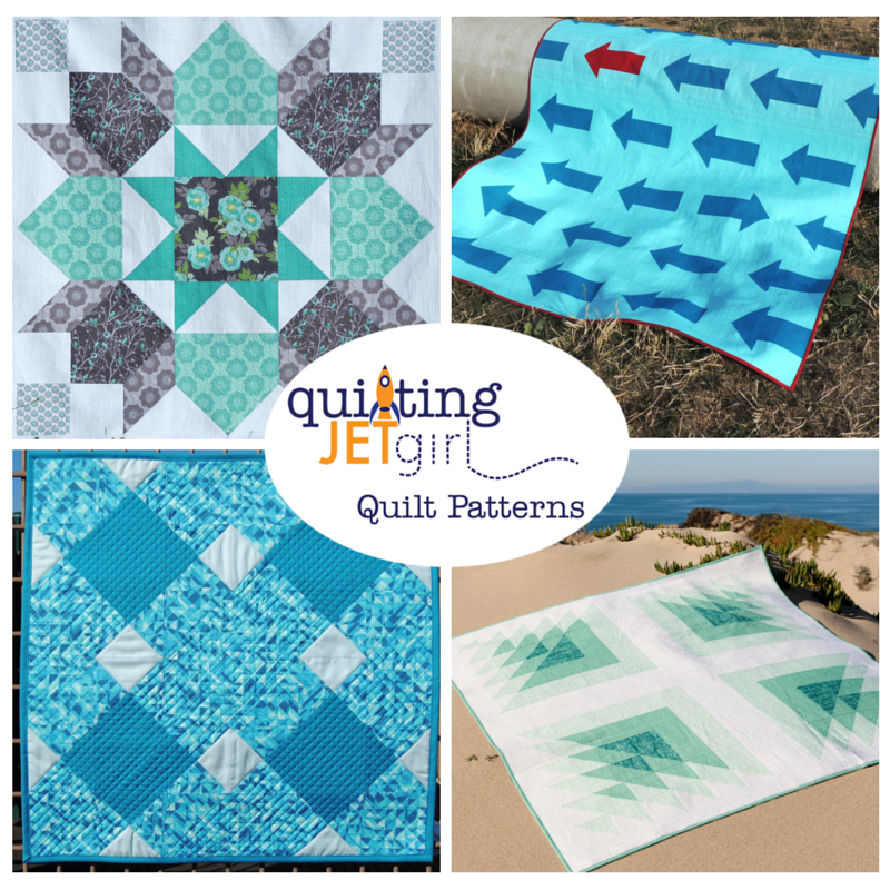 Quilting Jetgirl Pattern Shop Ad