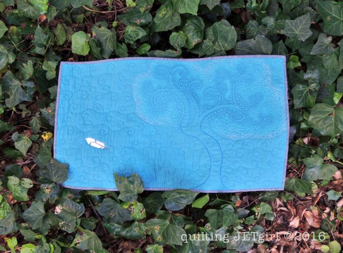 The Giving Tree Mini Quilt