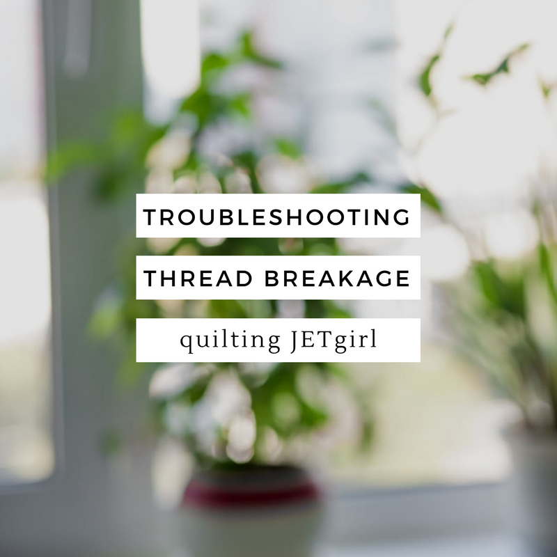 Troubleshooting Thread Breakage