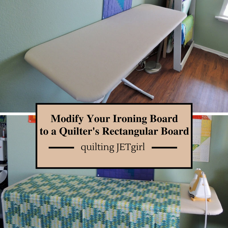How To Modify Your Ironing Board Into A Rectangular