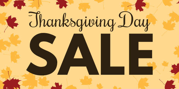 Thanksgiving Through Cyber Monday Sales Quilting Jetgirl